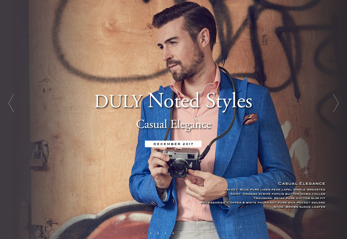 DULY Noted Styles : Casual Elegance