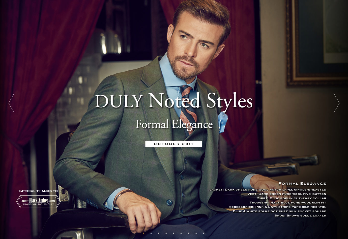 DULY Noted Styles : Formal Elegance